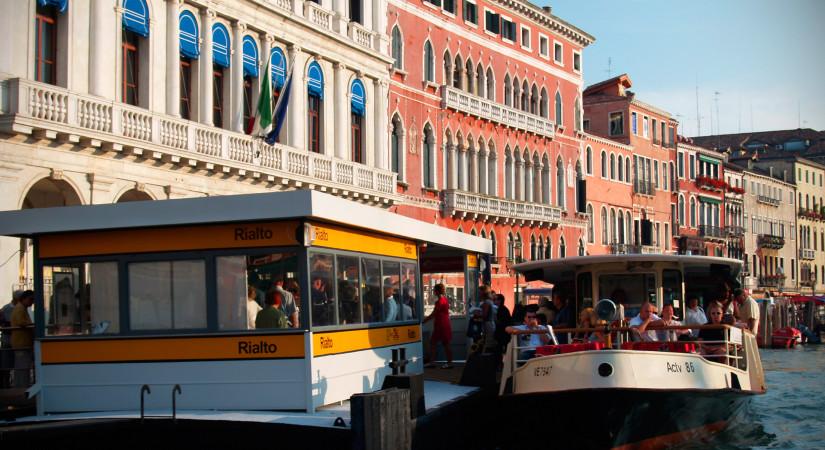 Water tram in Venice