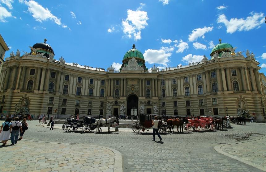 Hofburg Vienna - front view
